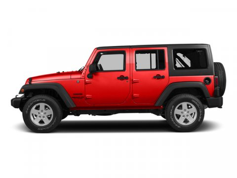 2015 Jeep Wrangler Unlimited Firecracker Red Clear Coat V6 36 L Automatic 1 miles  GVWR 5 40