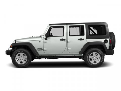 2015 Jeep Wrangler Unlimited Bright White Clearcoat V6 36 L Automatic 0 miles  410 Rear Axle