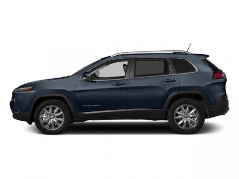 2015 Jeep Cherokee Limited True Blue PearlcoatBlack V6 32 L Automatic 0 miles  ENGINE 32L V6