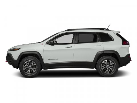 2015 Jeep Cherokee Trailhawk Bright White Clearcoat V6 32 L Automatic 1 miles Rebates include