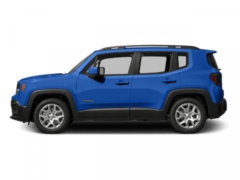 2015 Jeep Renegade Latitude Sierra Blue V4 24 L Automatic 2 miles Prepare to tackle nature wi