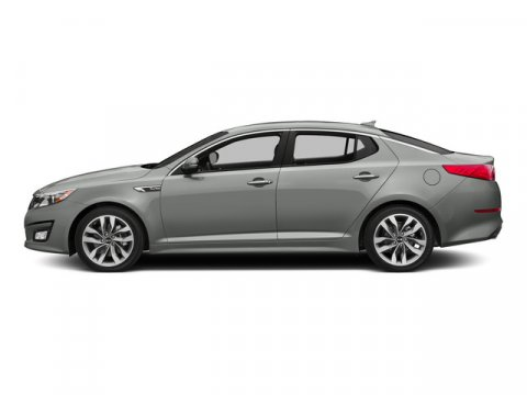 2015 Kia Optima SX Turbo wNavigation Titanium SilverBlack V4 20 L Automatic 5 miles With wor