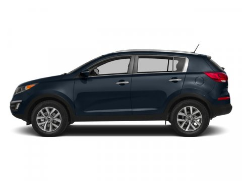 2015 Kia Sportage EX wNavigation Twilight BlueGray V4 24 L Automatic 5 miles Good things come