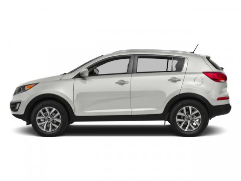 2015 Kia Sportage LX Clear WhiteBlack V4 24 L Automatic 8 miles Good things come in perfectly