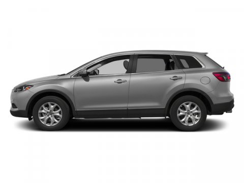 2015 Mazda CX-9 Touring Liquid SilverBlack V6 37 L Automatic 10 miles  BLACK LEATHER TRIMMED