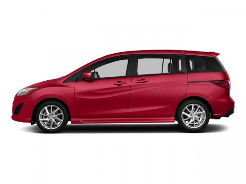 2015 Mazda Mazda5 Touring Zeal Red Mica V4 25 L Automatic 5 miles With sporty performance pu