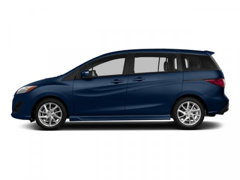 2015 Mazda Mazda5 Touring Deep Crystal Blue V4 25 L Automatic 5 miles With sporty performance