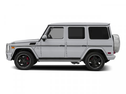 2015 Mercedes G-Class G63 AMG 4MATIC Polar WhiteDesigno Classic V8 55 L Automatic 32 miles  T