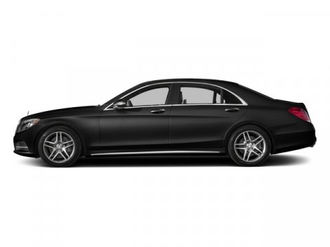 2015 Mercedes S-Class S550 Magnetite Black MetallicBlack Leather V8 47 L Automatic 18 miles W