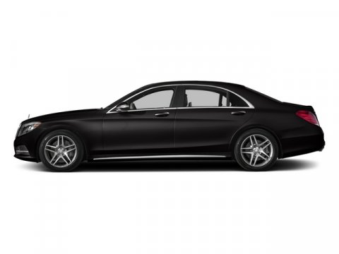 2015 Mercedes S-Class S550 Verde Brook MetallicCharcoal Leathe V8 47 L Automatic 5 miles  Turb