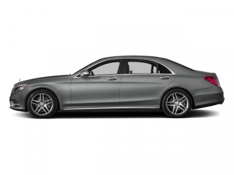 2015 Mercedes S-Class S550 RWD Palladium Silver MetallicBlack Leather V8 47 L Automatic 5 miles