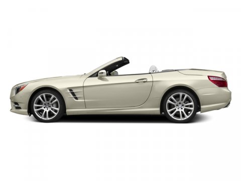 2015 Mercedes SL-Class SL400 Designo Diamond White MetallicRed Leather V6 30 L Automatic 9 mile