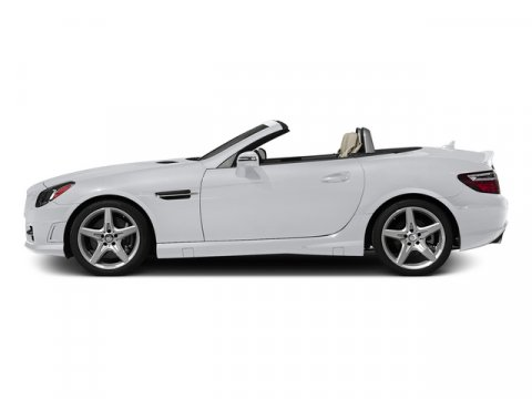 2015 Mercedes SLK-Class SLK250 Roadster Polar WhiteBngl Red Prm Lt V4 18 L Automatic 5 miles S