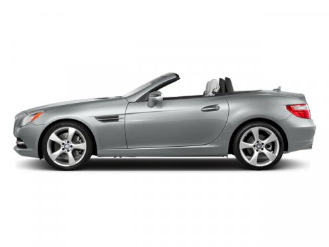 2015 Mercedes SLK-Class SLK350 Roadster Iridium Silver MetallicBlack Leather V6 35 L Automatic