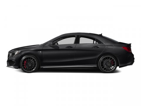 2015 Mercedes CLA45 AMG Night BlackBlack Leather V4 20 L Automatic 10 miles  AMG CENTER CAP FO