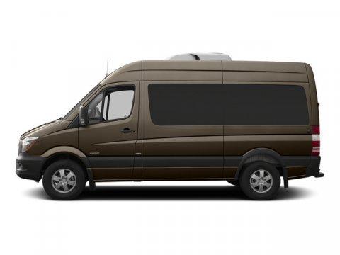 2015 Mercedes Sprinter Passenger Van 2500 144 Dolomite Brown MetallicTunja Black V6 30 L Automat
