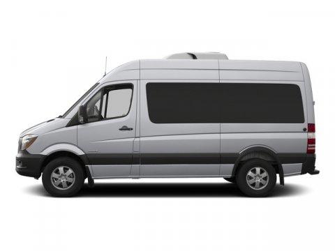 2015 Mercedes Sprinter Passenger Van RWD 2500 144 Brilliant Silver MetallicTunja Black V4 21 L