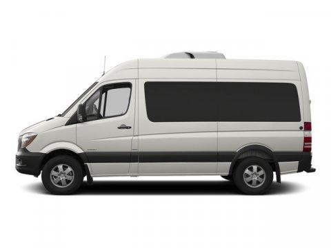 2015 Mercedes Sprinter Passenger Van RWD 2500 144 Pearl Silver MetallicLeatherette Bla V4 21 L A
