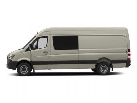 2015 Mercedes Sprinter Crew Van 2500 170 Gray WhiteLeatherette Bla V4 21 L Automatic 4 miles F
