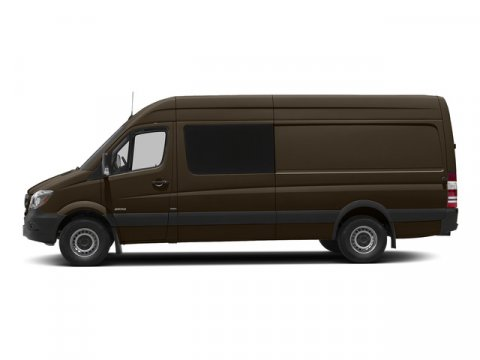 2015 Mercedes Sprinter Crew Van 2500 170 Dolomite Brown MetallicLeatherette Bla V6 30 L Automati