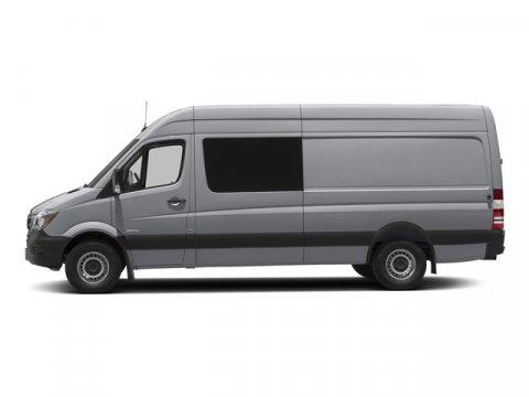 2015 Mercedes Sprinter Crew Van RWD 2500 144 Brilliant Silver MetallicTunja Black V6 30 L Autom
