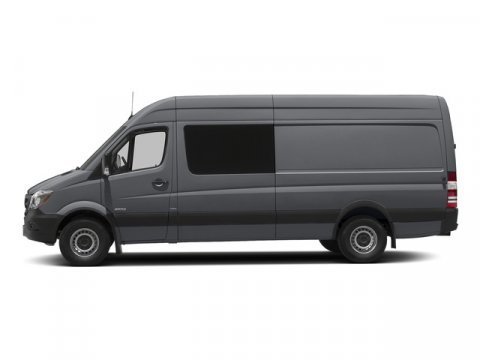 2015 Mercedes Sprinter Crew Van 2500 170 Graphite Gray MetallicLeatherette Bla V6 30 L Automatic
