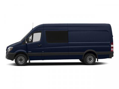 2015 Mercedes Sprinter Crew Van 2500 144 Cavansite Blue MetallicTunja Black V4 21 L Automatic 5