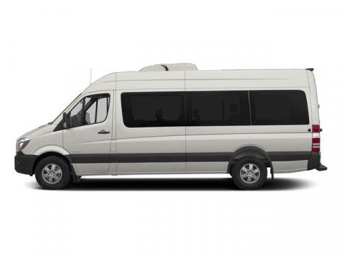 2015 Mercedes Sprinter Passenger Van 2500 170 Pearl Silver MetallicTunja Black V4 21 L Automatic