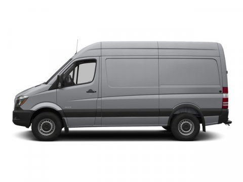 2015 Mercedes Sprinter Cargo Van RWD 2500 144 Brilliant Silver MetallicTunja Black V4 21 L Auto