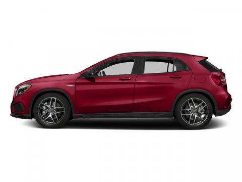 2015 Mercedes GLA-Class Jupiter RedBlack Leather V4 20 L Automatic 0 miles  AMG DRIVERS PACK