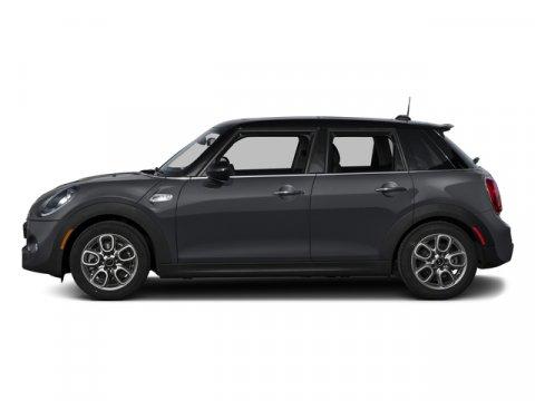 2015 MINI Cooper Hardtop 4 Door S Thunder Gray MetallicK9E1 CARBON BLACK LEATHERETTE V4 20 L Au