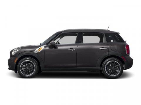 2015 MINI Cooper Countryman S Midnight Gray MetallicK9E1 CARBON BLACK LEATHERETTE V4 16 L Autom