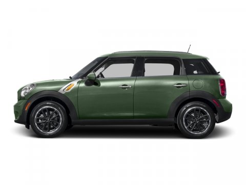 2015 MINI Cooper Countryman Jungle Green MetallicK9E1 CARBON BLACK LEATHERETTE V4 16 L Automati
