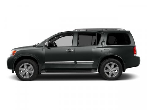 2015 Nissan Armada SV Gun Metallic V8 56 L Automatic 0 miles Built on a muscular and fully bo