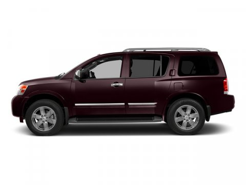 2015 Nissan Armada SV Midnight Garnet V8 56 L Automatic 0 miles Built on a muscular and fully