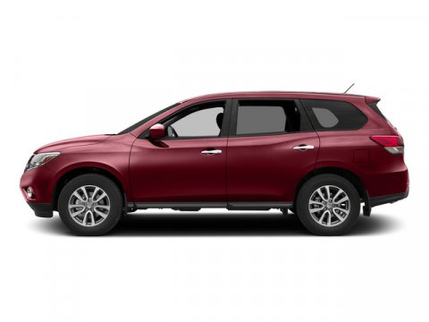 2015 Nissan Pathfinder SV Cayenne Red V6 35 L Variable 0 miles The Nissan Pathfinder is an in