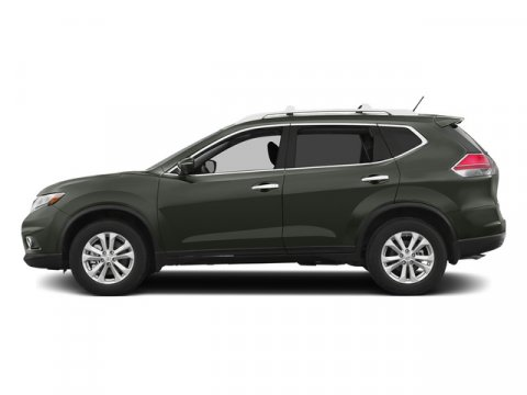 2015 Nissan Rogue S Midnight JadeCharcoal V4 25 L Variable 0 miles  Front Wheel Drive  Power
