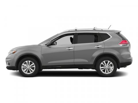 2015 Nissan Rogue SV Brilliant SilverCharcoal V4 25 L Variable 0 miles  Front Wheel Drive  P