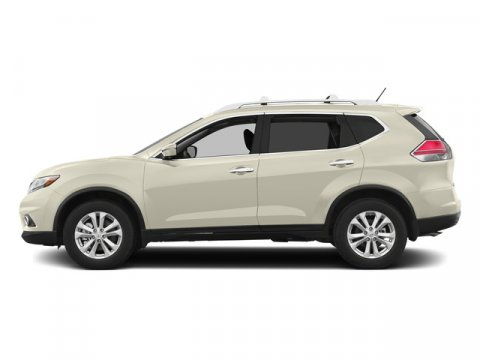 2015 Nissan Rogue SL Pearl WhiteAlmond V4 25 L Variable 0 miles  Front Wheel Drive  Power St