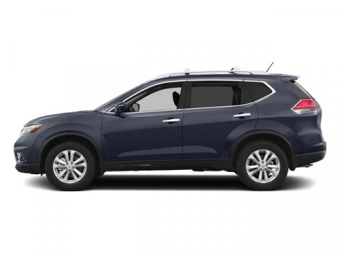 2015 Nissan Rogue SV Arctic Blue MetallicCharcoal V4 25 L Variable 0 miles  Front Wheel Drive