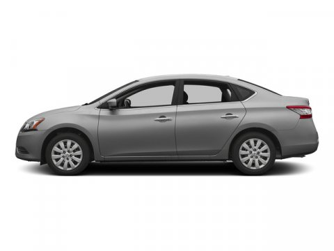 2015 Nissan Sentra S Brilliant SilverCharcoal V4 18 L Variable 0 miles  Front Wheel Drive  P