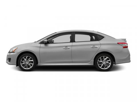 2015 Nissan Sentra SR Brilliant SilverCharcoal V4 18 L Variable 0 miles  Front Wheel Drive