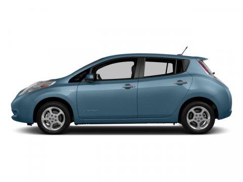 2015 Nissan LEAF SL Morningsky BlueBlack V 00 Automatic 0 miles  Electric Motor  Front Wheel