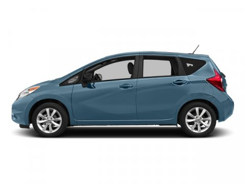 2015 Nissan Versa Note SV Morningsky Blue MetallicCharcoal V4 16 L Variable 0 miles  Front Wh