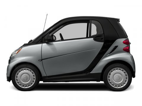 2015 Smart Fortwo Pure Silver MetallicBlack V3 10 L Automatic 6 miles Stop by Smart Center Riv