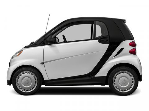 2015 smart fortwo passion Crystal WhiteBlack V3 10 L Automatic 6 miles Stop by Smart Center Ri