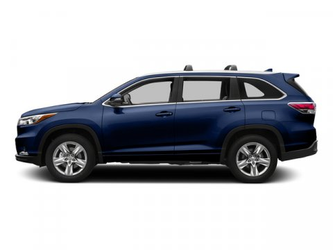 2015 Toyota Highlander XLE Nautical Blue MetallicDARK GRAY V6 35 L Automatic 5 miles FREE CAR