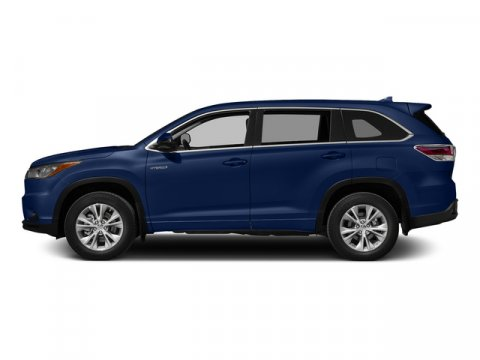 2015 Toyota Highlander Hybrid Limited Platinum Nautical Blue MetallicGray V6 35 L Variable 5 mi