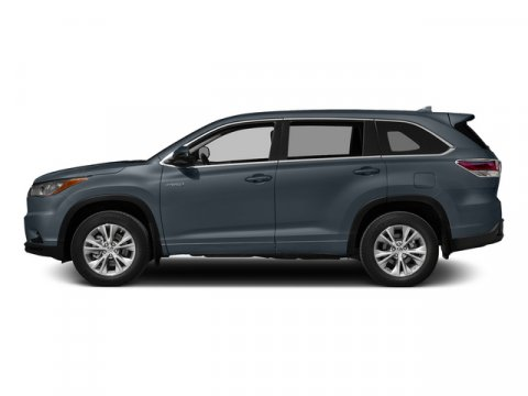 2015 Toyota Highlander Hybrid Limited Platinum Shoreline Blue PearlGray V6 35 L Variable 5 mil