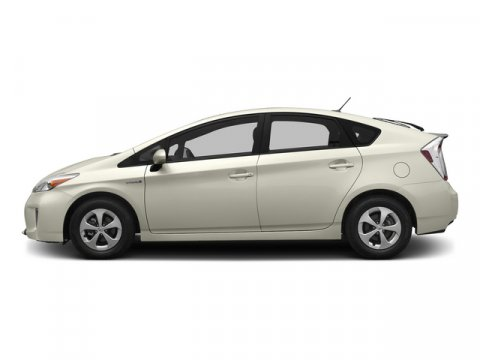 2015 Toyota Prius Two Blizzard PearlFb40Bisque V4 18 L Variable 8 miles  BACK UP MONITOR  C